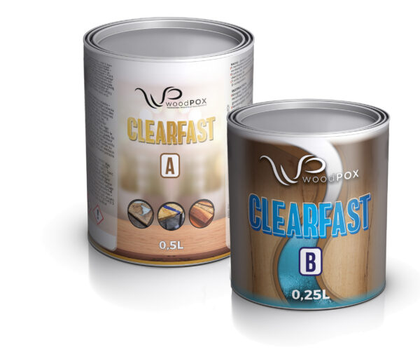 clearfast 650ml kit